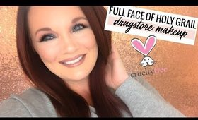 Full Face of Cruelty-Free Drugstore Makeup
