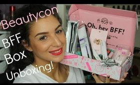 Beautycon BFF 2015 Fall Box Unboxing! ♥