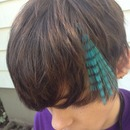 Hair cut and fun clip in color by Christy Farabaugh