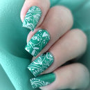 Green Birdie Nails
