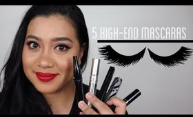 5 High-end Mascaras  What worked, what didn't.