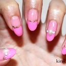 Spring French Nails