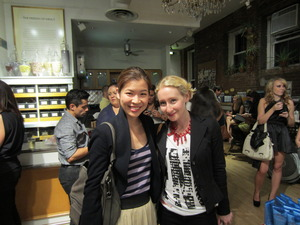 Ending FNO at Kiehl's Karaoke with my first beauty boss, Sarah Brown, the amazing Beauty Director at Vogue!