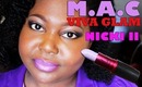 MAC Nicki Minaj Viva Glam 2 On Dark Skin