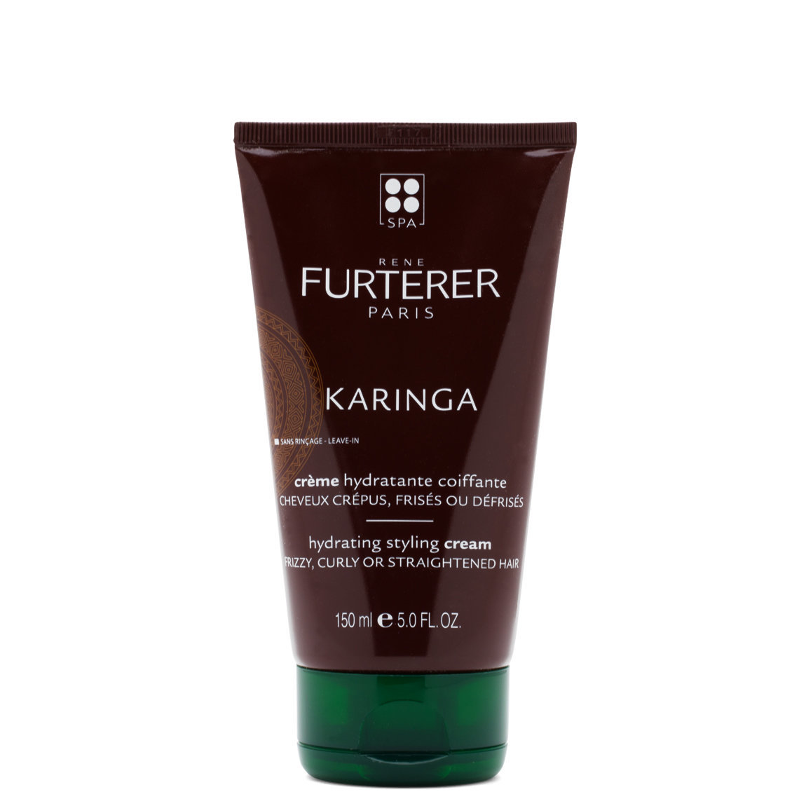Rene Furterer Karinga Hydrating Styling Cream product swatch.