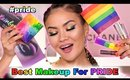 PRIDE MAKEUP LOOK + REVIEW | Maryam Maquillage