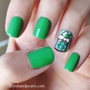 Starbucks Nail Art