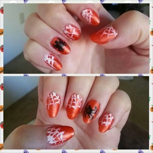 my second Halloween manicure