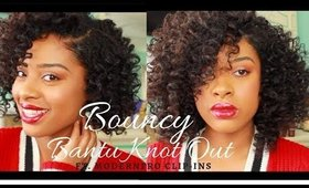 How to Creat Bouncy Fluffy Bantu Knot Out | ft. ModernFro Clip-ins