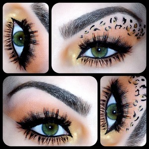 Yes I would go out with spots on my eyes ;). Follow me on instagram @makeupmonsterkiki