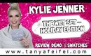 Kylie Cosmetics The Holiday Collection Wet Set | Review, Demo, & Swatches | Tanya Feifel-Rhodes