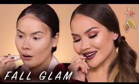 GET READY WITH ME FALL MAKEUP TUTORIAL | Maryam Maquillage