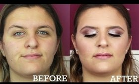 GLAM PROM MAKEUP TRANSFORMATION - Makeup By Nicole