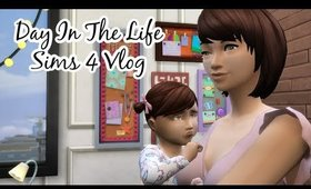 Sims 4 Vlog Day In The Life Young Mom ( With Voiceover) #sims4 #sims4vlog #sims4movie