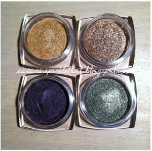 L'Oreal Infallible Shadow!  http://sparklethat.blogspot.com/2011/12/new-loreal-infallible-eyeshadow.html