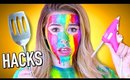 WEIRD Viral beauty hacks and Instagram trends tested!