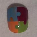 Puzzle Piece Nails