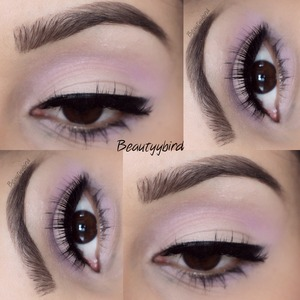 A tutorial of this look is on my YouTube channel at www.youtube.com/beautyybird link is in my bio
