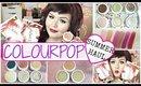 Colourpop Cosmetics Summer Haul & Swatches