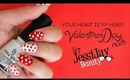 ♥ Easy Way To Create Hearts On Your Nails ♥