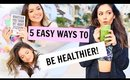 5 REAL WAYS TO BE HEALTHY! | Bethany Mota