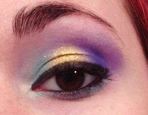 A look I did on my friend recently!