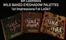 BH Cosmetics WILD PALETTES 1st Impression/1st Look!!