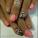 leopard and diamond