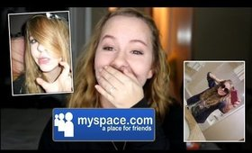 REACTING TO OLD PHOTOS!! / MYSPACE EDITION