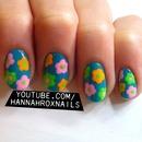 Floral Mod Nail Art