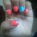 My nails today(: