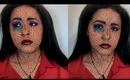 Pop Art: The Crying Girl (A Makeup Tutorial)