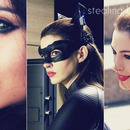 TDKR Anne Hathaway's Catwoman Inspired Make-up