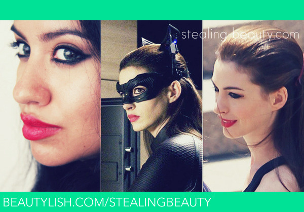 Tdkr Anne Hathaway S Catwoman Inspired Make Up Alexa L
