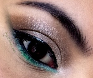 Earth and nature makeup with my victoria's secret eyeshadow palette.