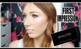 First Impression: Makeup Revolution Ultra Cream Contour Palette + Tutorial