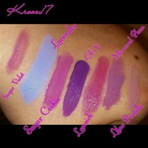 Can't get enough purple! Ha This is only my personal stash, there's more in my kit. ?? I'm actually surprised I use purple so much, I truly consider it a neutral color. Since my favorite color is green, which I rarely use in my looks these days But rocked all through high school! Glosses are still not my favorite thing but I ended up stocking up on them last year to try and convert  myself! What are your favorite colors to wear? Gloss or lipstick? Is your favorite color the most used color in your daily application?   #Lipstick #lips #glosses #lipproducts #Maybelline #Revlon #nyxcosmetics #KVD #kvdbeauty #swatches #purple #beauty #beautyproducts #beautyshot #cosmetics #makeup #makeuplook #makeuptrends #trends #instabeauty #instamakeup #Kroze17