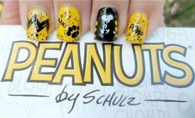 Snoopy Nail Art - Peanuts Collection by OPI Review
