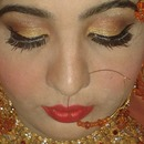 indian/pakistani bridal meye makeup