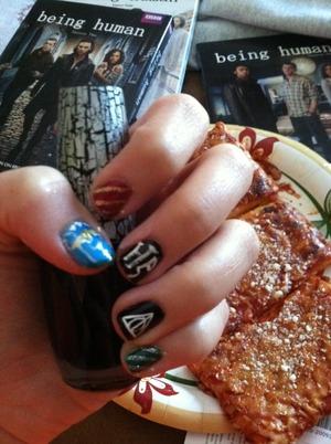My HP inspired nails