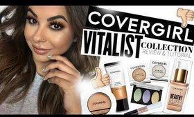 COVERGIRL VITALIST Collection Review & Tutorial