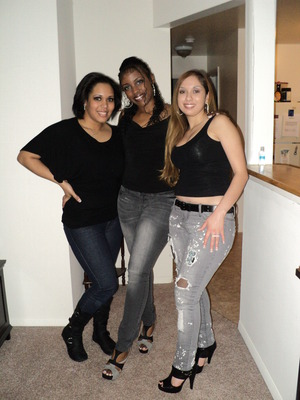 Left is me, w/ two of my friends