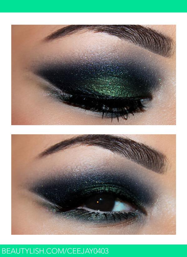 Black & Green Smokey Eyes | Ceejay F.'s (Ceejay0403) Photo