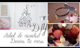 DIY Navideño: Arbol + Decora la mesa | Alba Badell