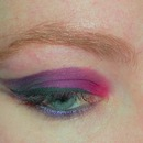 Red, Purple, Deep Purple and Black, wing