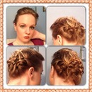 Braided Updo with Height