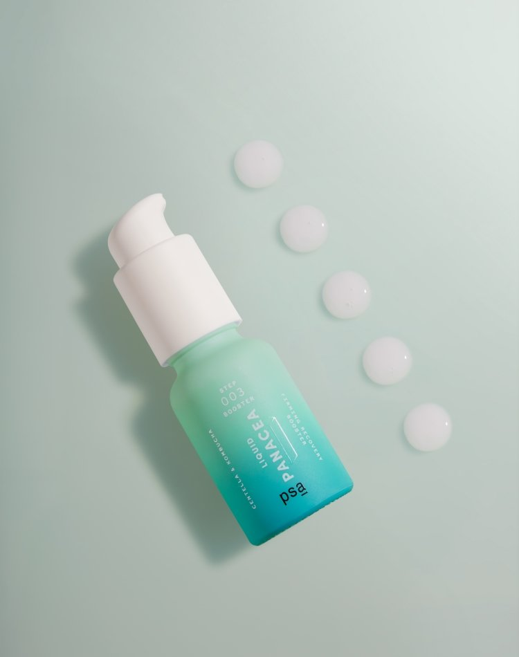 Alternate product image for Liquid Panacea: Centella & Kombucha Firming Recovery Booster shown with the description.