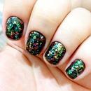 Brilhos multicoloridos