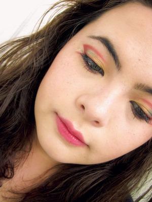 Chinese New Year make-up
