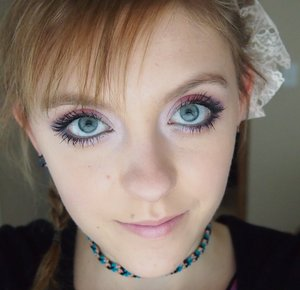 This is the makeup I wore to my brother's graduation ceremony and part.